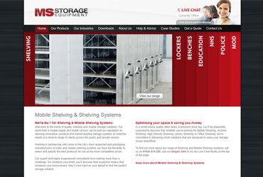 New MS Storage Website