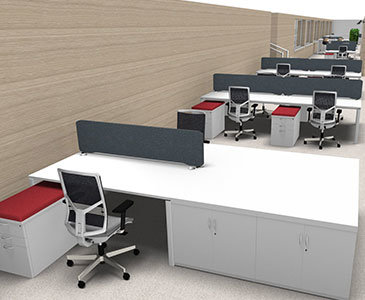 3D Office Space Planing
