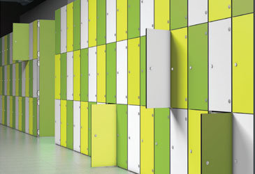 ZenBox Aluminium Lockers