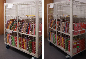 Bespoke Medical Records Trolley