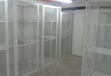 Bespoke Wire Mesh Lockers