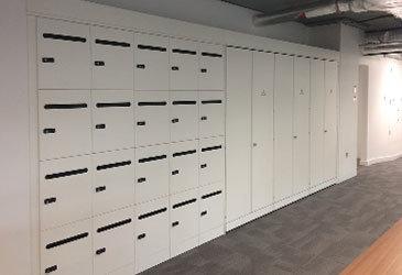 Bespoke Office Lockers
