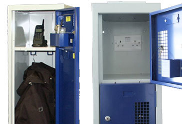 Bespoke Police Lockers