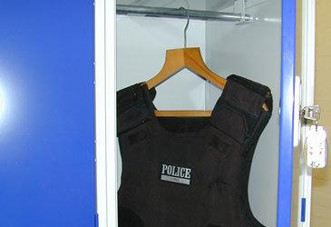 Body Armour Lockers