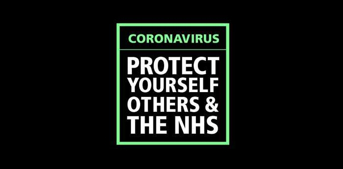 Covid 19 NHS Message