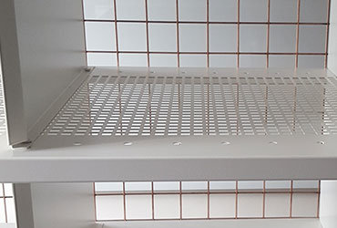 Water Permeable Shelving