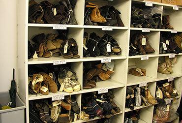 BBC Wales - Shoe Shelving