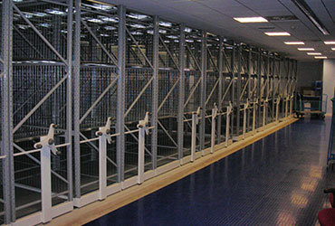 Stechford Police Station Mobile Racking
