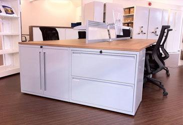 Desk End Storage