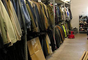 Garment Hanging Racking