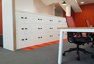 Hot Desk Lockers
