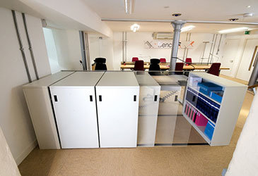 Low Movable Office Shelving