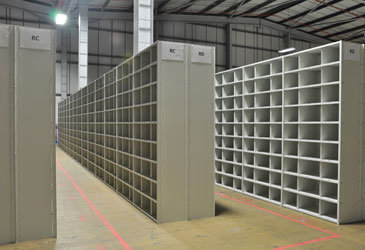 Medical Record Shelving