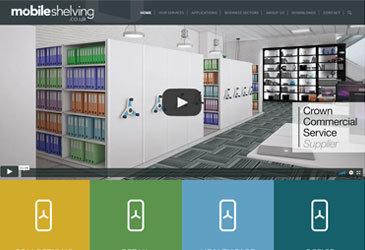 Mobile Shelving Website