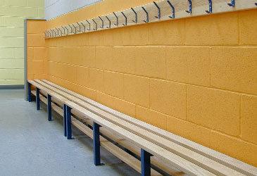 Bench Seating & Peg Rail