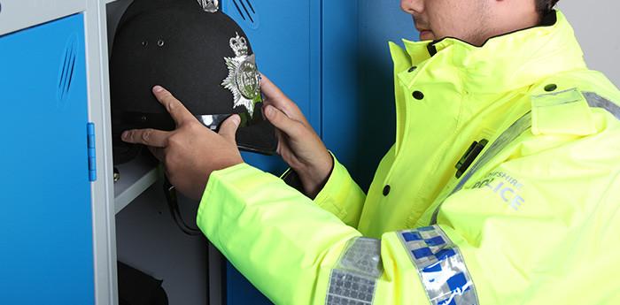 Police Storage Shelving