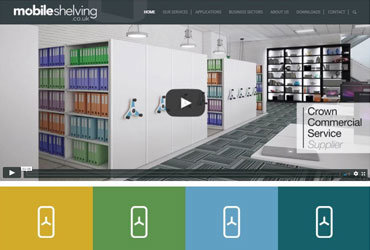 Mobile Shelving Website
