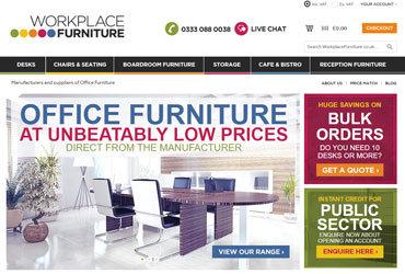 Workplace Furniture Website