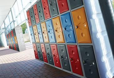 Probe Plastic Lockers