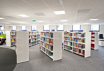 Low School Library Shelving