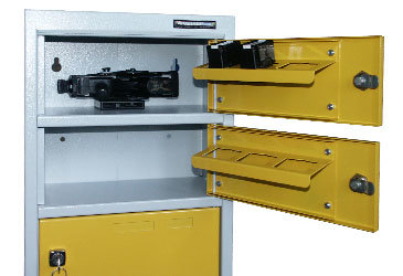 Taser Storage Lockers