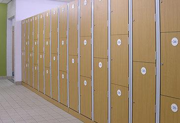 Trespa Laminate Lockers