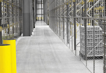 Warehouse Mesh Partitioning