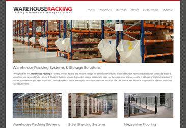 Warehouse Racking Website