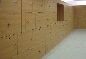 Wooden Z Lockers